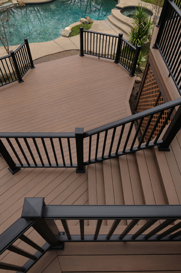 Azek Deck with Railing System
