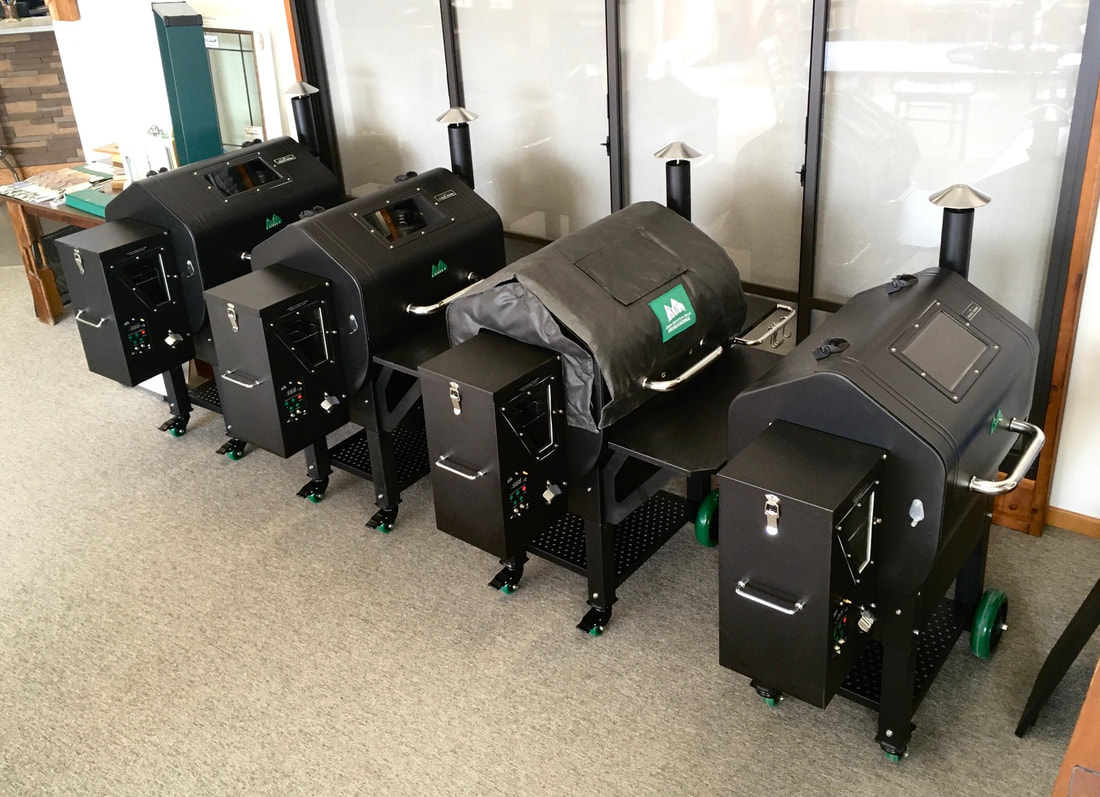 Pellet Grills Ready To Go