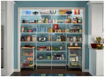 Wire Pantry System